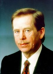 Portrait of Václav Havel (click to view image source)