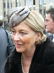 Portrait of Queen of Belgium Paola (click to view image source)