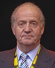 Portrait of King of Spain Juan Carlos I (click to view image source)