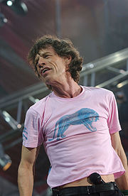 Portrait of Mick Jagger (click to view image source)