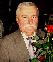 Portrait of Lech Walesa (click to view image source)