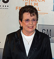 Portrait of Billie Jean King (click to view image source)