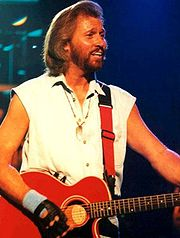 Portrait of Barry Gibb  (click to view image source)