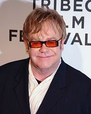 Portrait of Elton John (click to view image source)