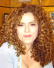 Portrait of Bernadette Peters (click to view image source)