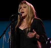 Portrait of Stevie Nicks (click to view image source)