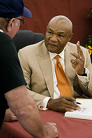 Portrait of George Foreman (click to view image source)