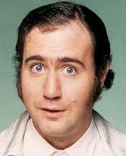 Portrait of Andy Kaufman (click to view image source)