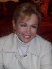 Portrait of Phyllis George (click to view image source)