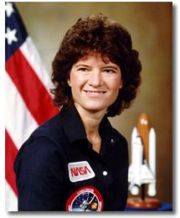 Portrait of Sally Ride (click to view image source)