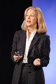 Portrait of Christie Hefner (click to view image source)