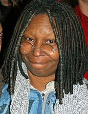 Portrait of Whoopi Goldberg (click to view image source)
