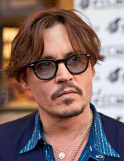 Portrait of Johnny Depp (click to view image source)