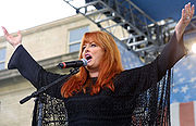 Portrait of Wynonna Judd (click to view image source)