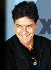 Portrait of Charlie Sheen (click to view image source)