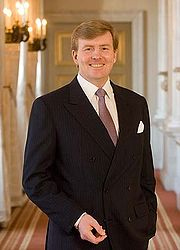 Portrait of Prince of the Netherlands Willem-Alexander (click to view image source)