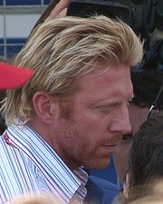Portrait of Boris Becker (click to view image source)