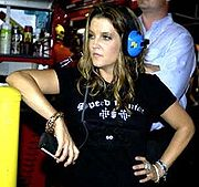 Portrait of Lisa Marie Presley (click to view image source)