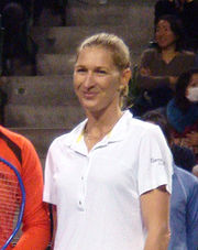 Portrait of Steffi Graf (click to view image source)