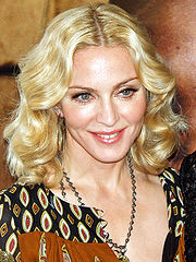 Portrait of Madonna  (click to view image source)