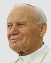 Portrait of Pope John Paul II (click to view image source)