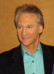 Portrait of Bill Maher (click to view image source)
