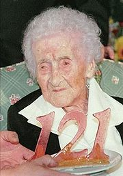 Portrait of Jeanne Calment (click to view image source)