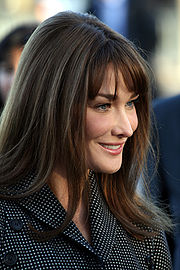 Portrait of Carla Bruni (click to view image source)