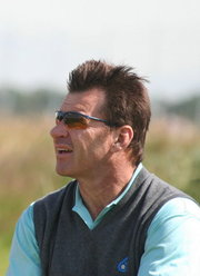 Portrait of Nick Faldo (click to view image source)