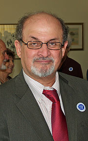 Portrait of Salman Rushdie (click to view image source)