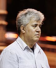 Portrait of Pedro Almodóvar  (click to view image source)