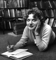 Portrait of Muriel Spark (click to view image source)