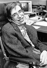 Portrait of Steven Hawking (click to view image source)