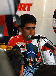 Portrait of Miguel Indurain (click to view image source)