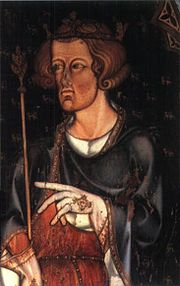 Portrait of King of England Edward I (click to view image source)
