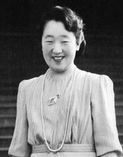 Portrait of Empress of Japan Nagako (click to view image source)