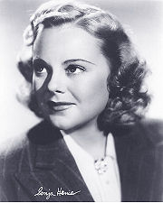 Portrait of Sonja Henie  (click to view image source)