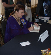Portrait of Mercedes Lackey (click to view image source)