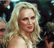 Portrait of Uma Thurman (click to view image source)