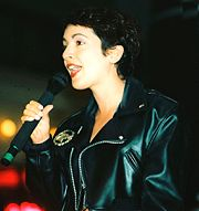 Portrait of Jane Wiedlin (click to view image source)