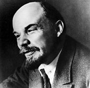 Portrait of Vladimir Lenin (click to view image source)