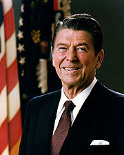 Portrait of Ronald Reagan (click to view image source)