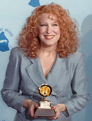 Portrait of Bette Midler (click to view image source)