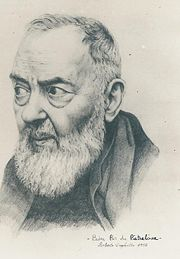 Portrait of Padre Pio (click to view image source)