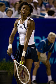 Portrait of Venus Williams (click to view image source)