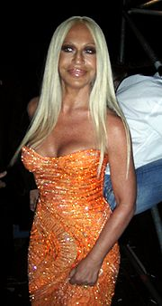 Portrait of Donatella Versace (click to view image source)