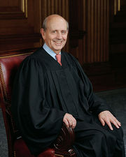 Portrait of Stephen Breyer (click to view image source)