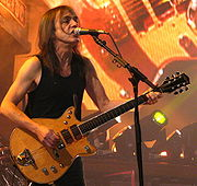 Portrait of Malcolm Young  (click to view image source)
