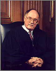 Portrait of William Rehnquist (click to view image source)