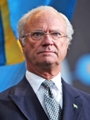 Portrait of King of Sweden Carl XVI Gustaf (click to view image source)